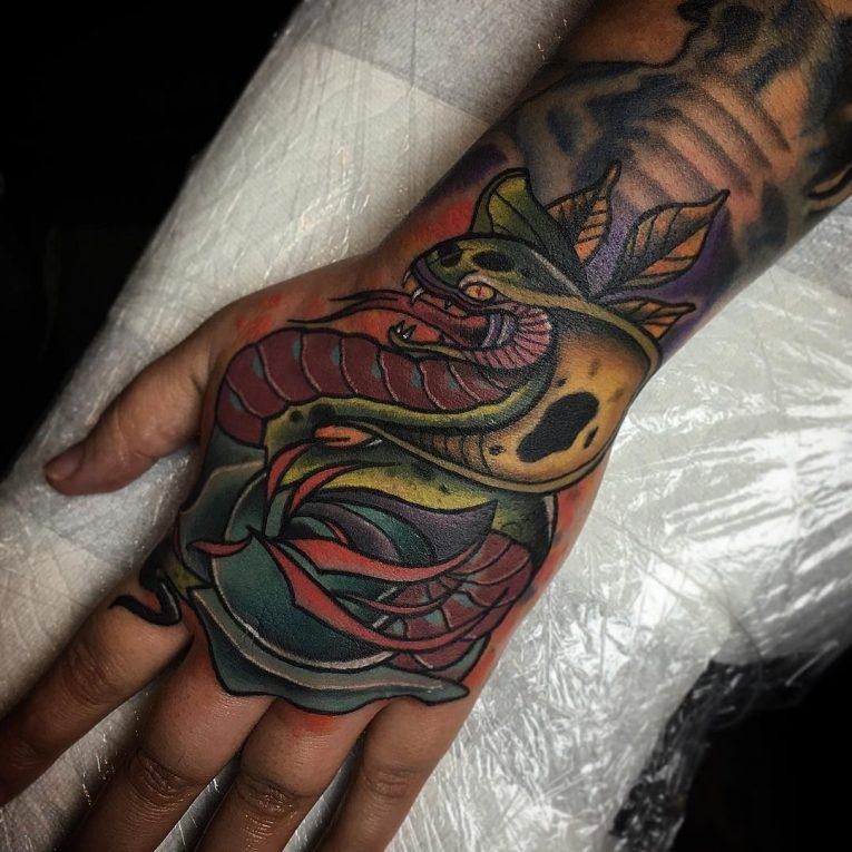 Snake Tattoo 70