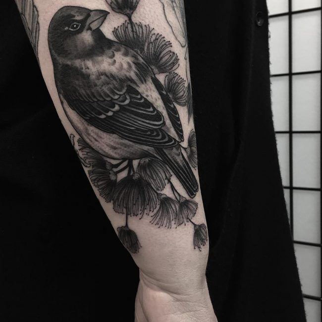 Sparrow Tattoo 47