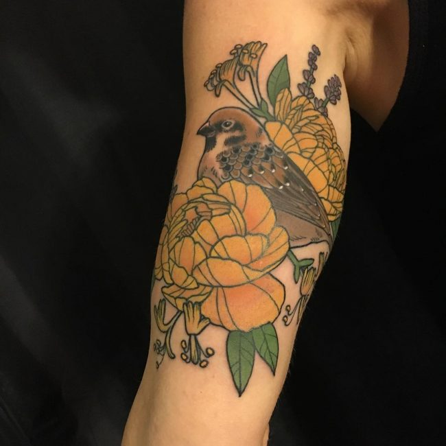Sparrow Tattoo 50