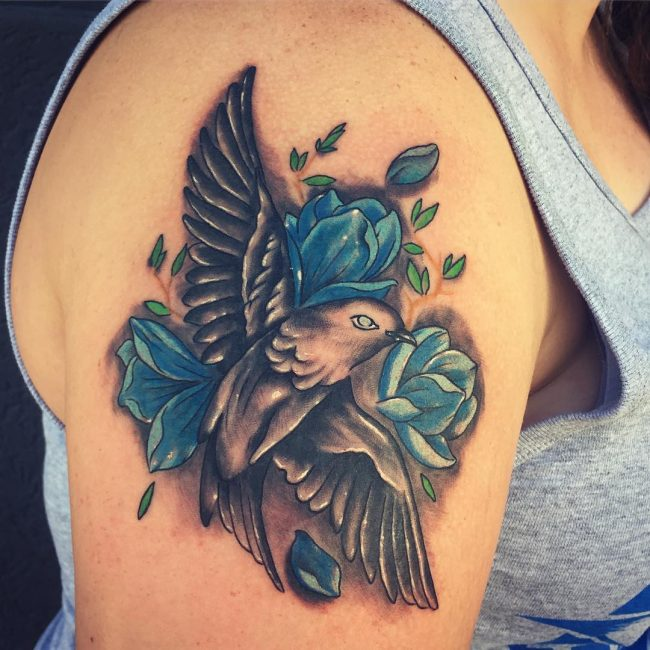 Sparrow Tattoo 52