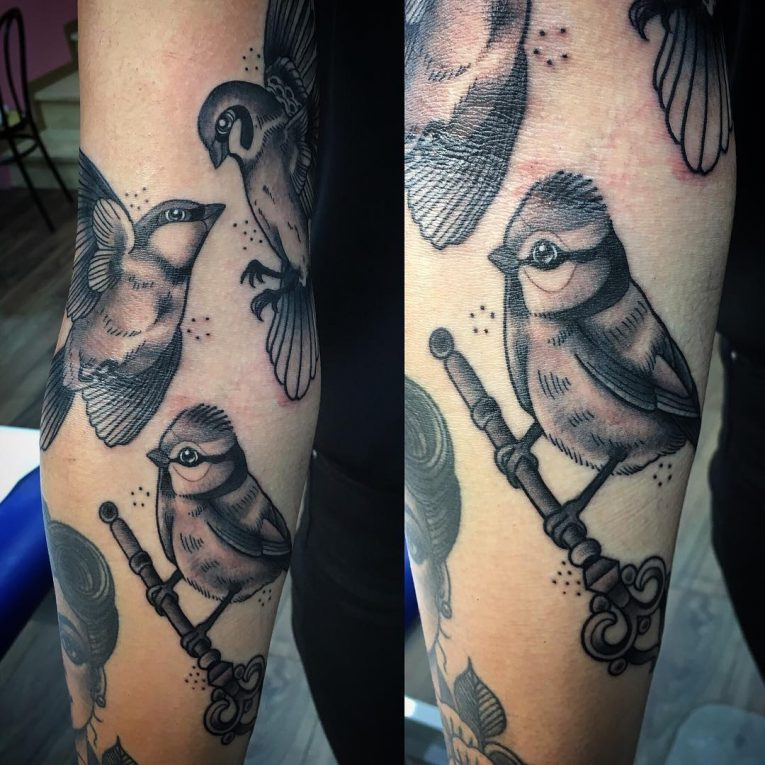 Sparrow Tattoo 63