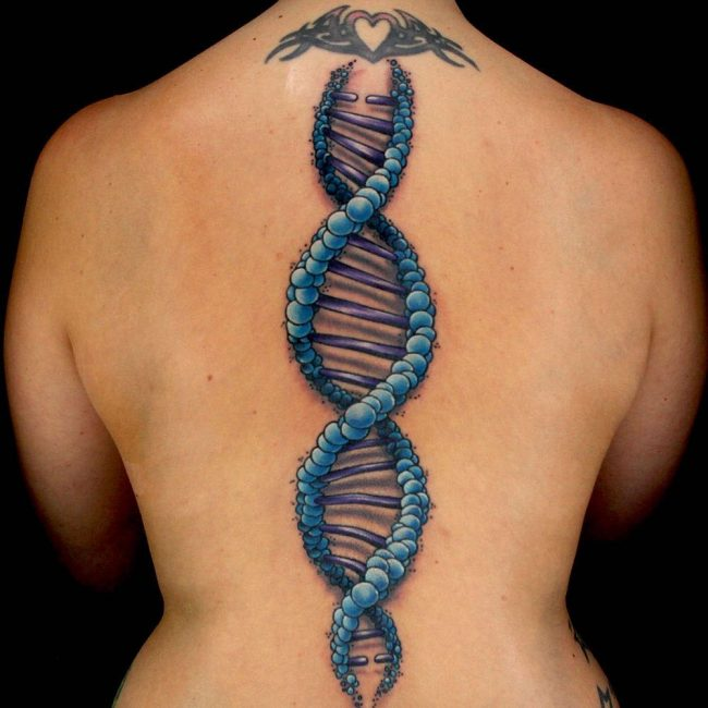 Spine Tattoo 65