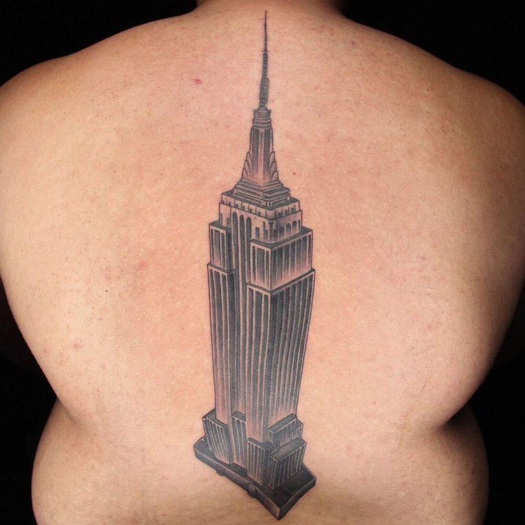 Spine Tattoo 68