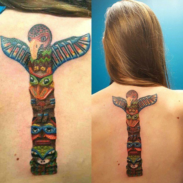 Spine Tattoo 69