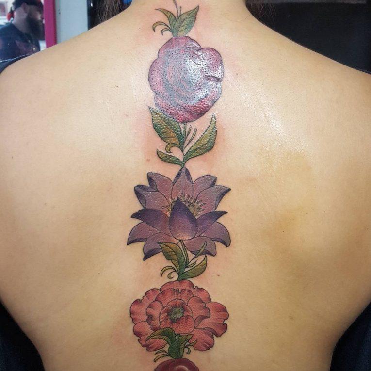 Spine Tattoo 75