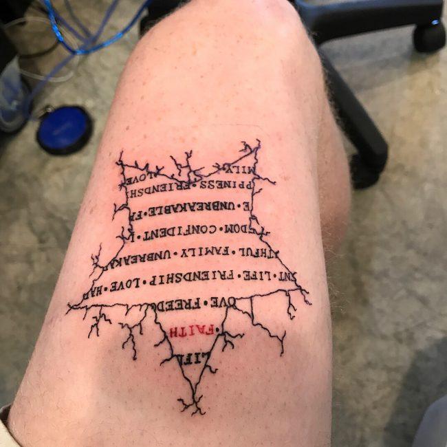 Star Tattoo 58