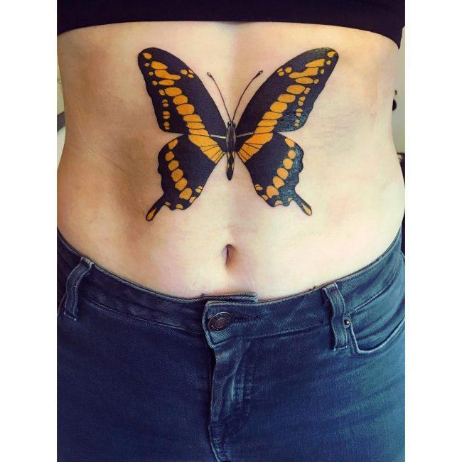 Stomach Tattoo 57
