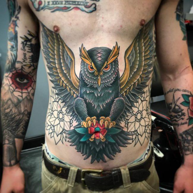 Stomach Tattoo 63