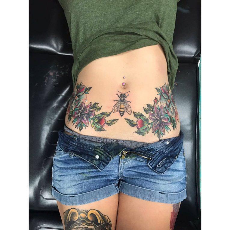 Stomach Tattoo 71