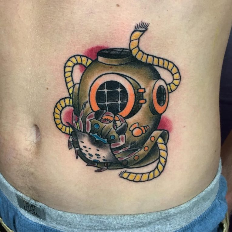 Stomach Tattoo 72