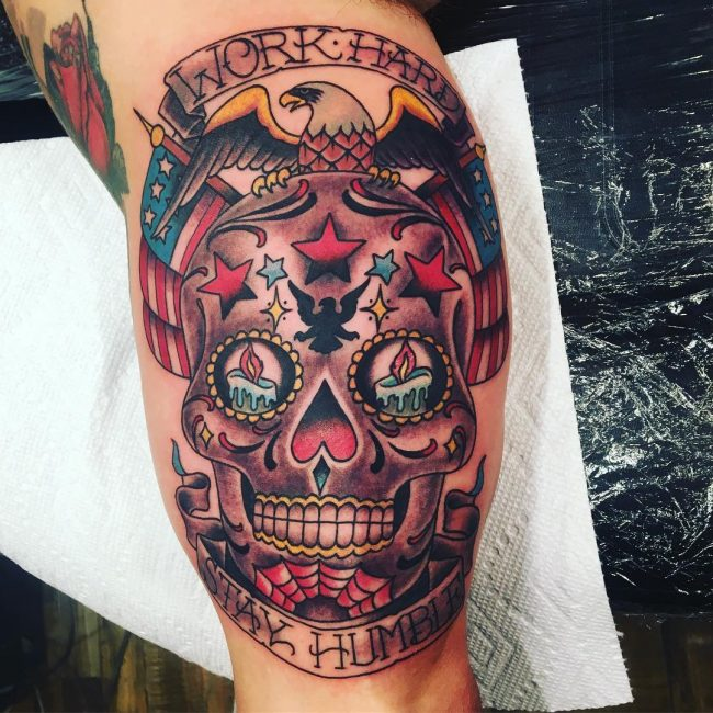 Sugar Skull Tattoo 106