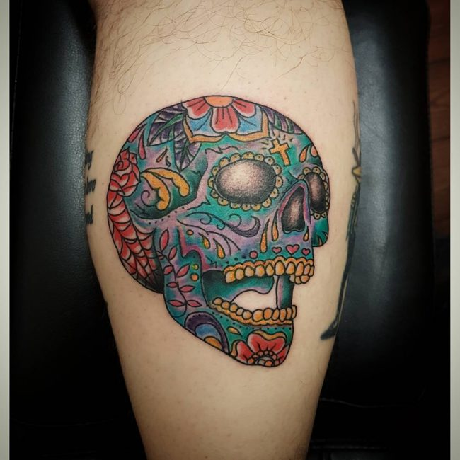 Sugar Skull Tattoo 109
