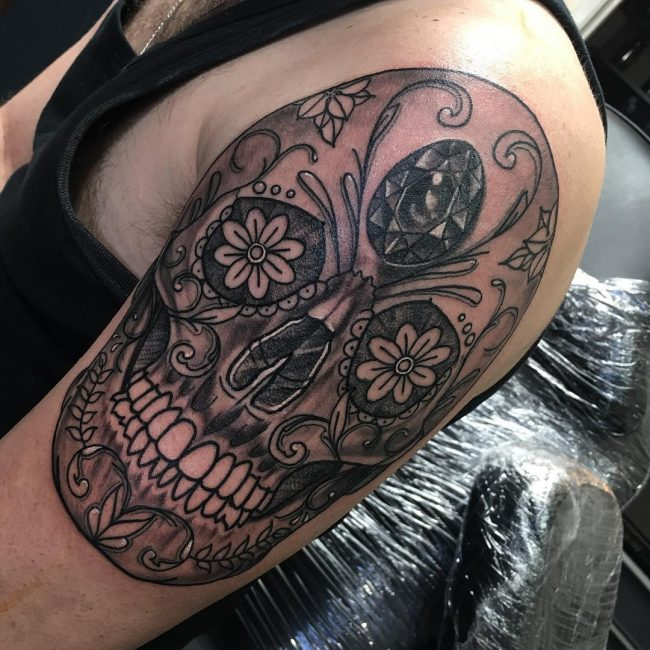 Sugar Skull Tattoo 112