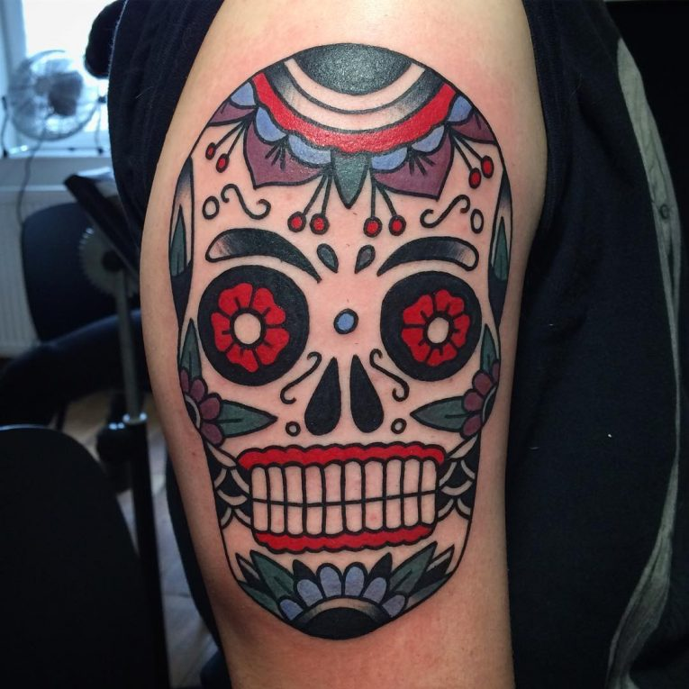 Sugar Skull Tattoo 116