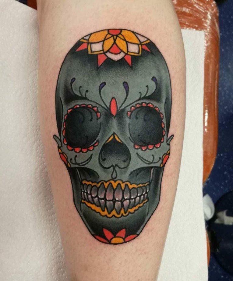 Sugar Skull Tattoo 117