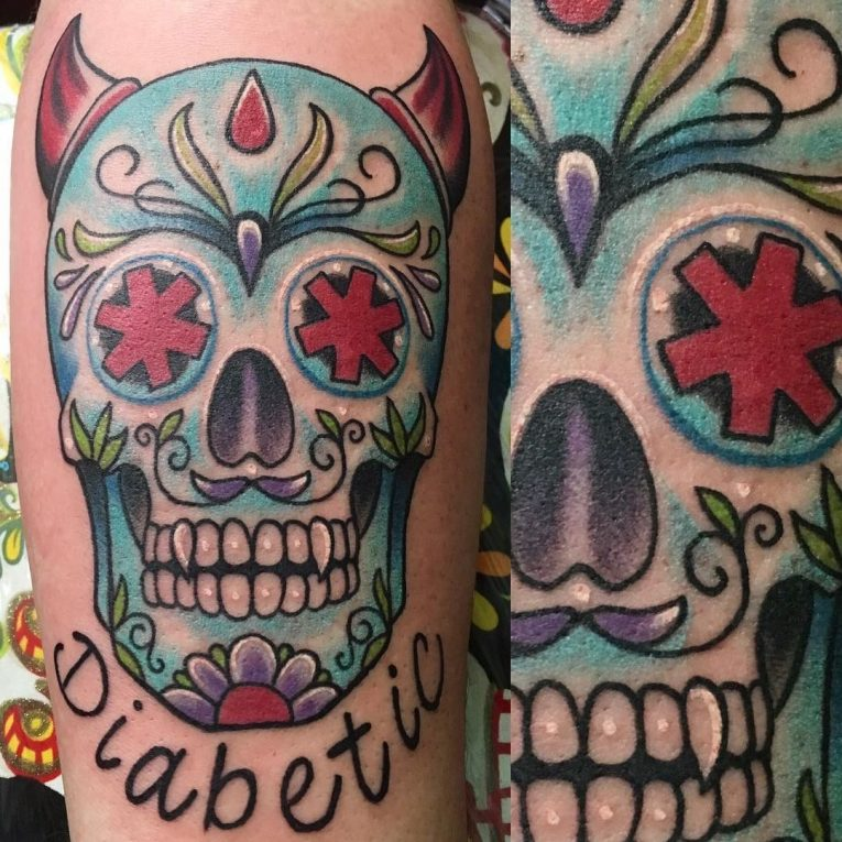 Sugar Skull Tattoo 118