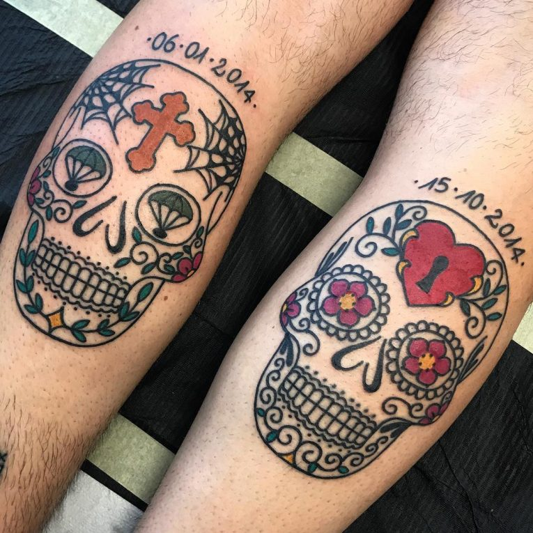 Sugar Skull Tattoo 119