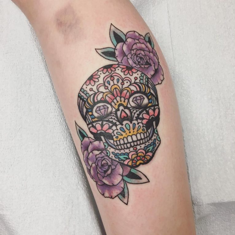 Sugar Skull Tattoo 120