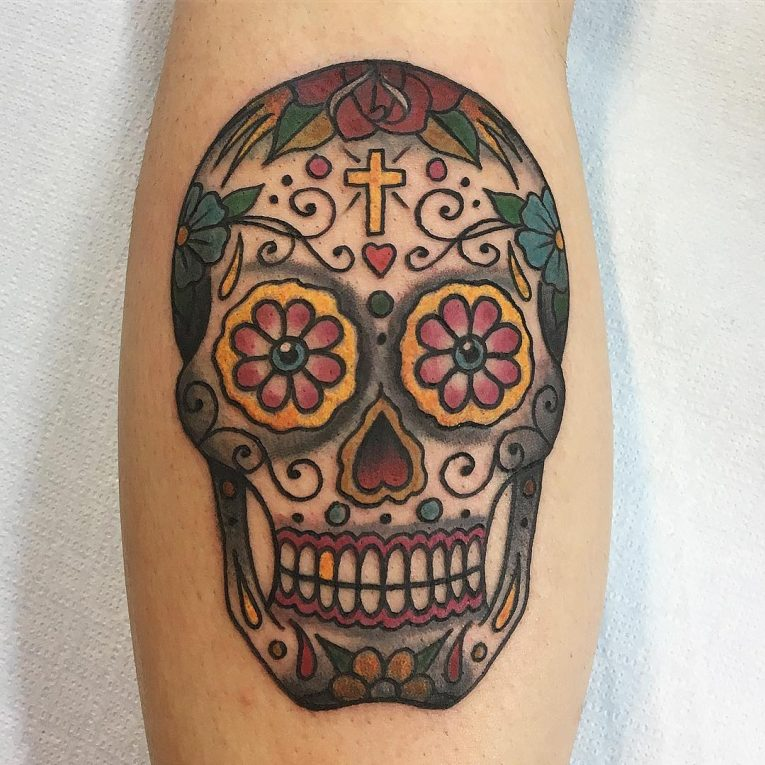 Sugar Skull Tattoo 125