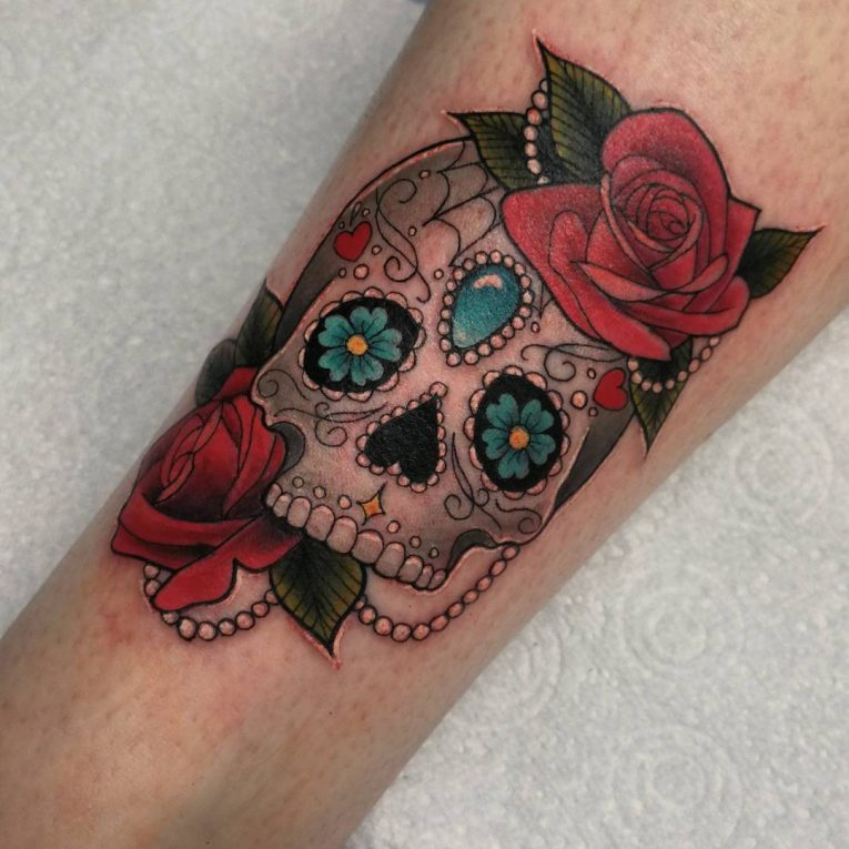 Sugar Skull Tattoo 126