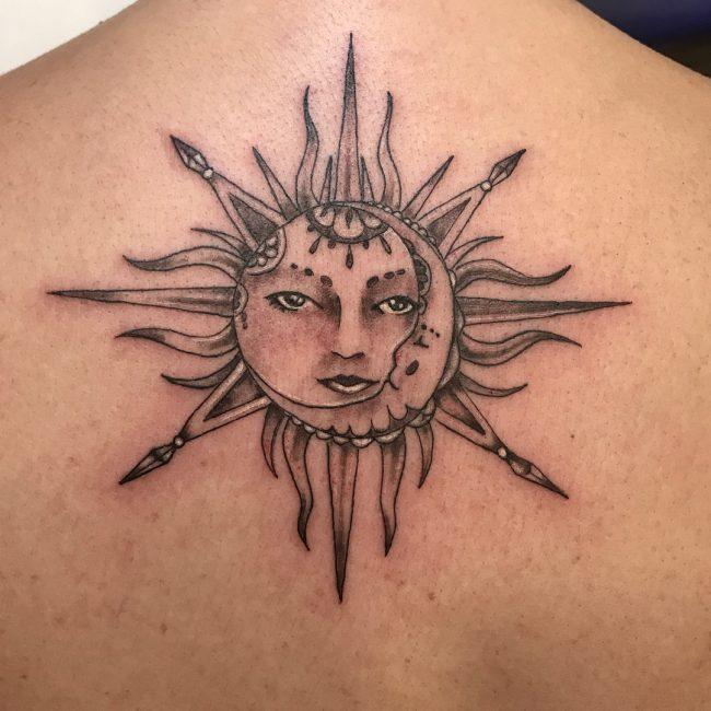 Sun Tattoo 76