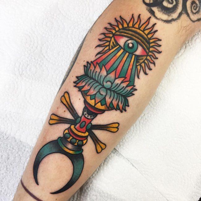 Sun Tattoo 79