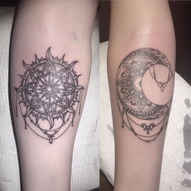 Sun Tattoo 80