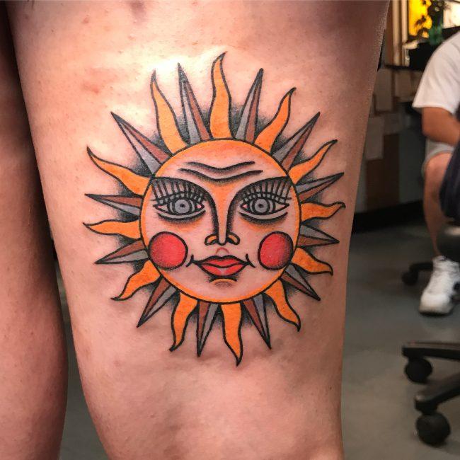 Sun Tattoo 81