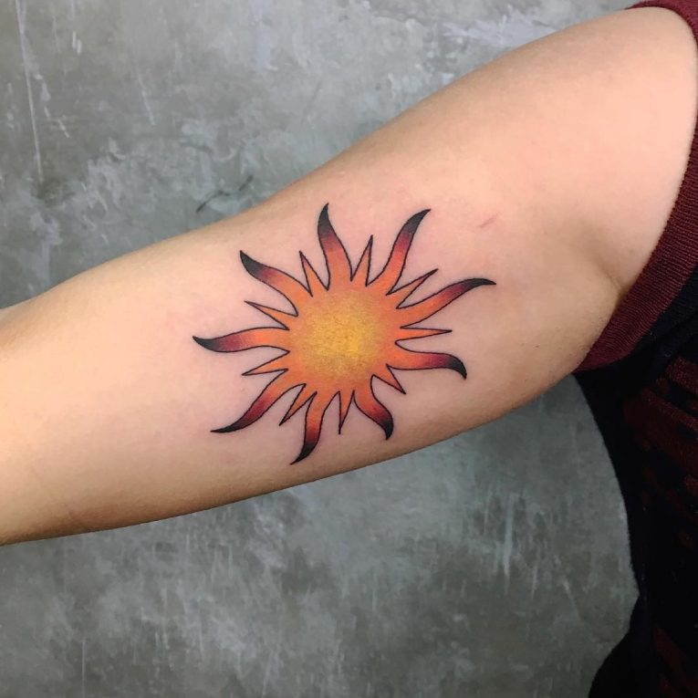 Sun Tattoo 86