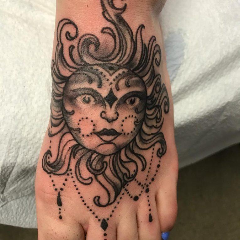 Sun Tattoo 87
