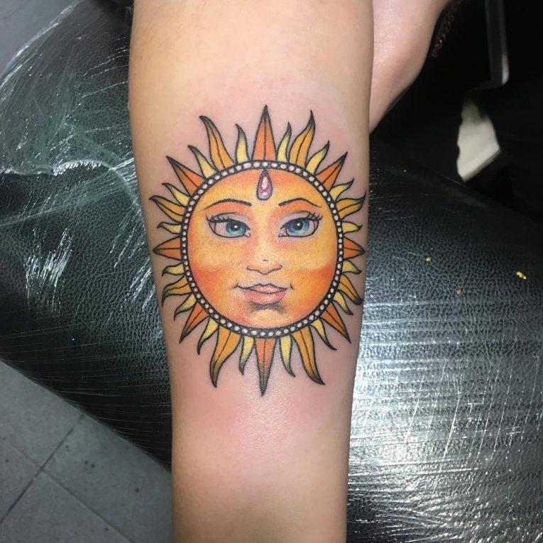Sun Tattoo 88