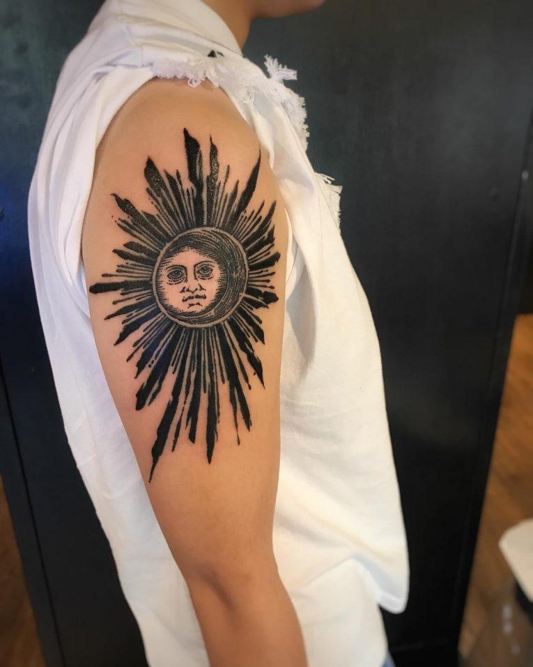 Sun Tattoo 89