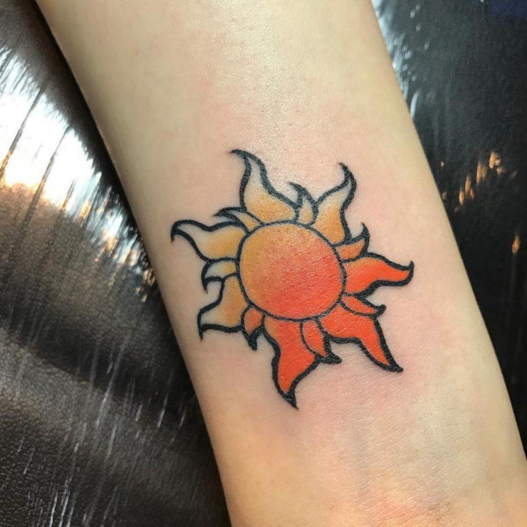 Sun Tattoo 91