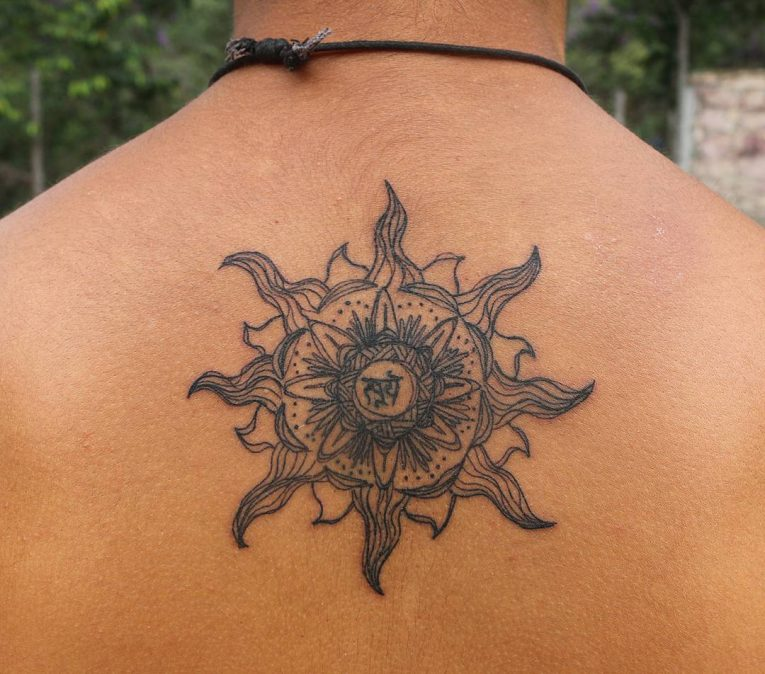 Sun Tattoo 92