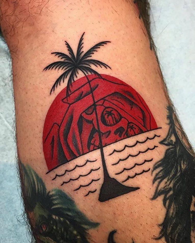 Sun Tattoo 93