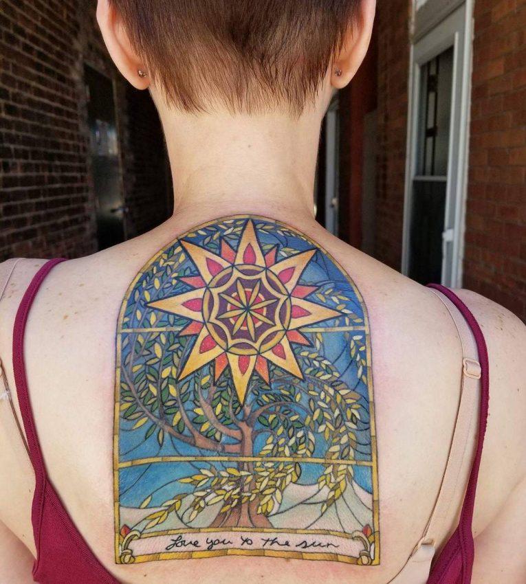 Sun Tattoo 95