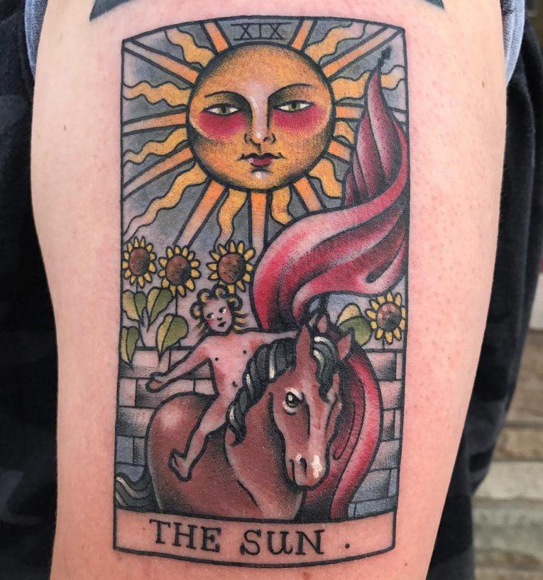 Sun Tattoo 96
