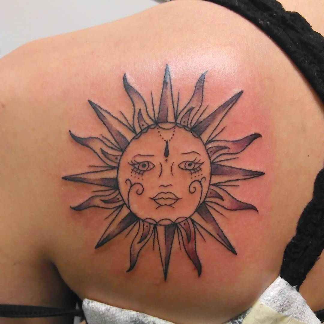 95 best sun tattoo designs meanings symbol of the