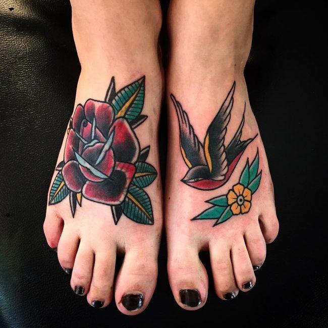 Swallow Bird Tattoo 62