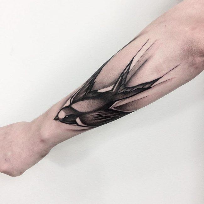 Swallow Bird Tattoo 65