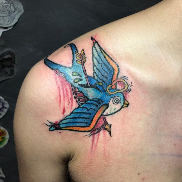 Swallow Bird Tattoo 71