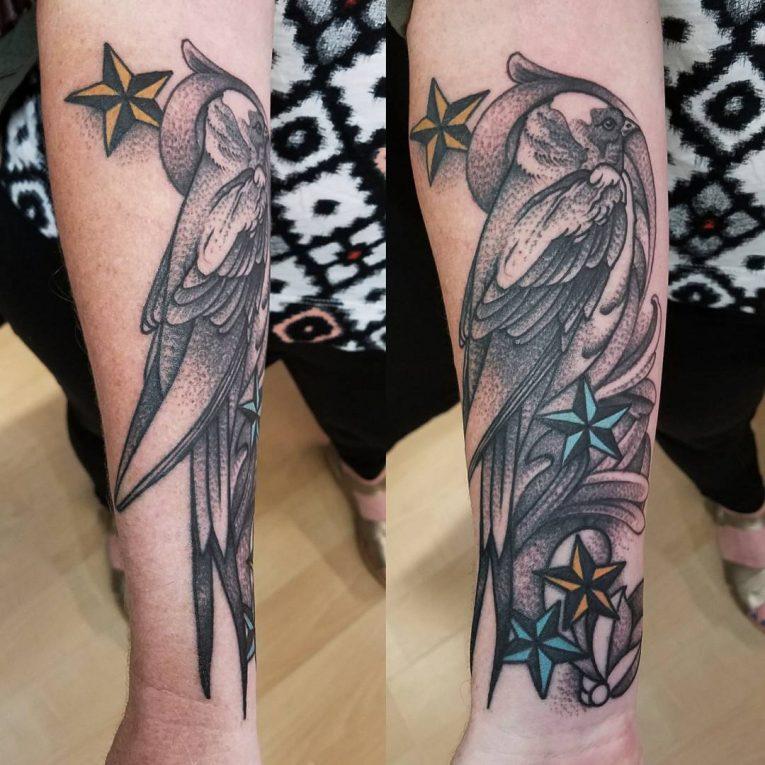 Swallow Bird Tattoo 75