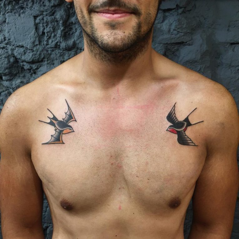 Swallow Bird Tattoo 76