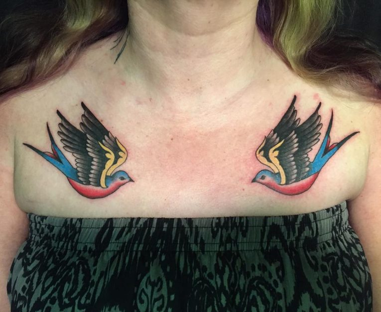 Swallow Bird Tattoo 79