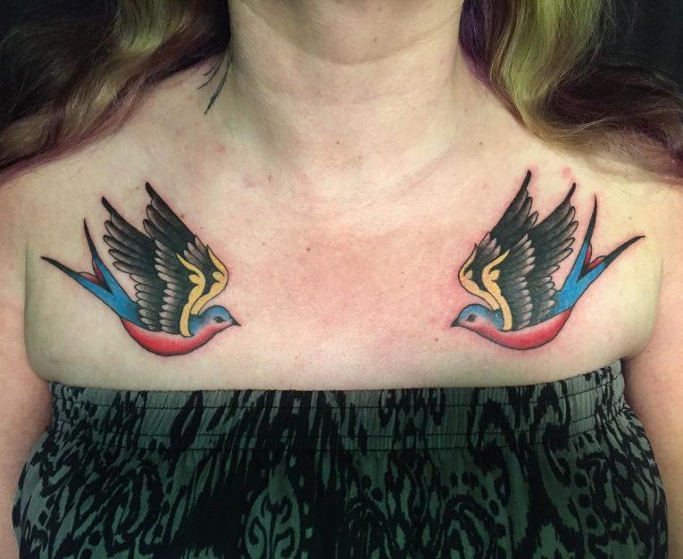 Swallow Bird Tattoo 79