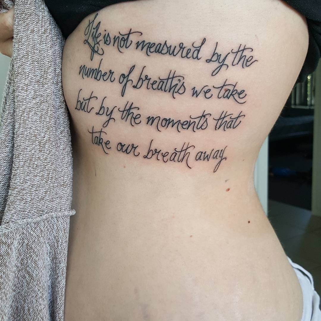 The Best Tattoo Quotes Ever: 70 Best Inspirational Tattoo Quotes For Men & Women (2019