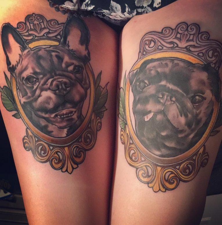 Thigh Tattoo 108