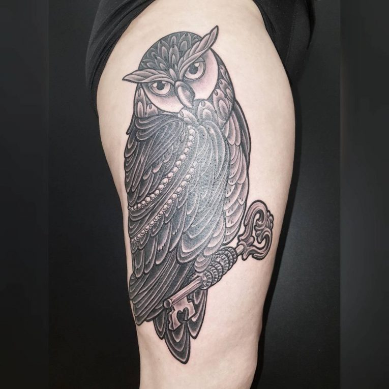 Thigh Tattoo 114