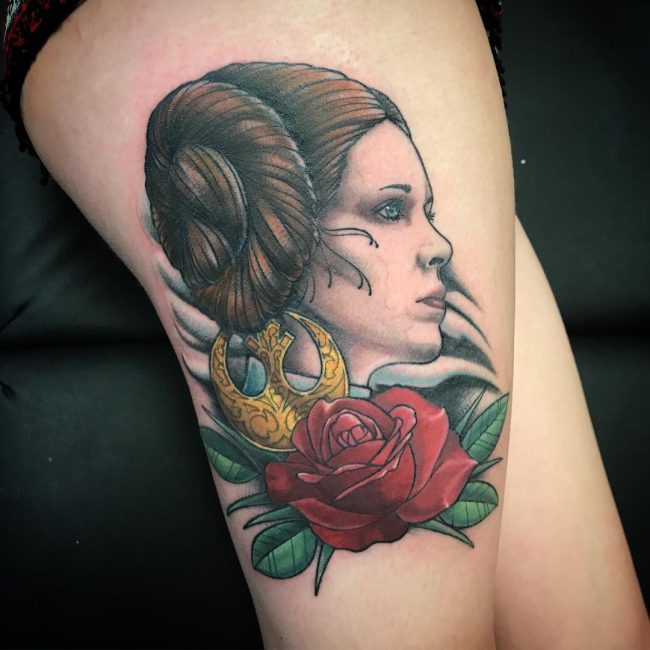 Thigh Tattoo 99