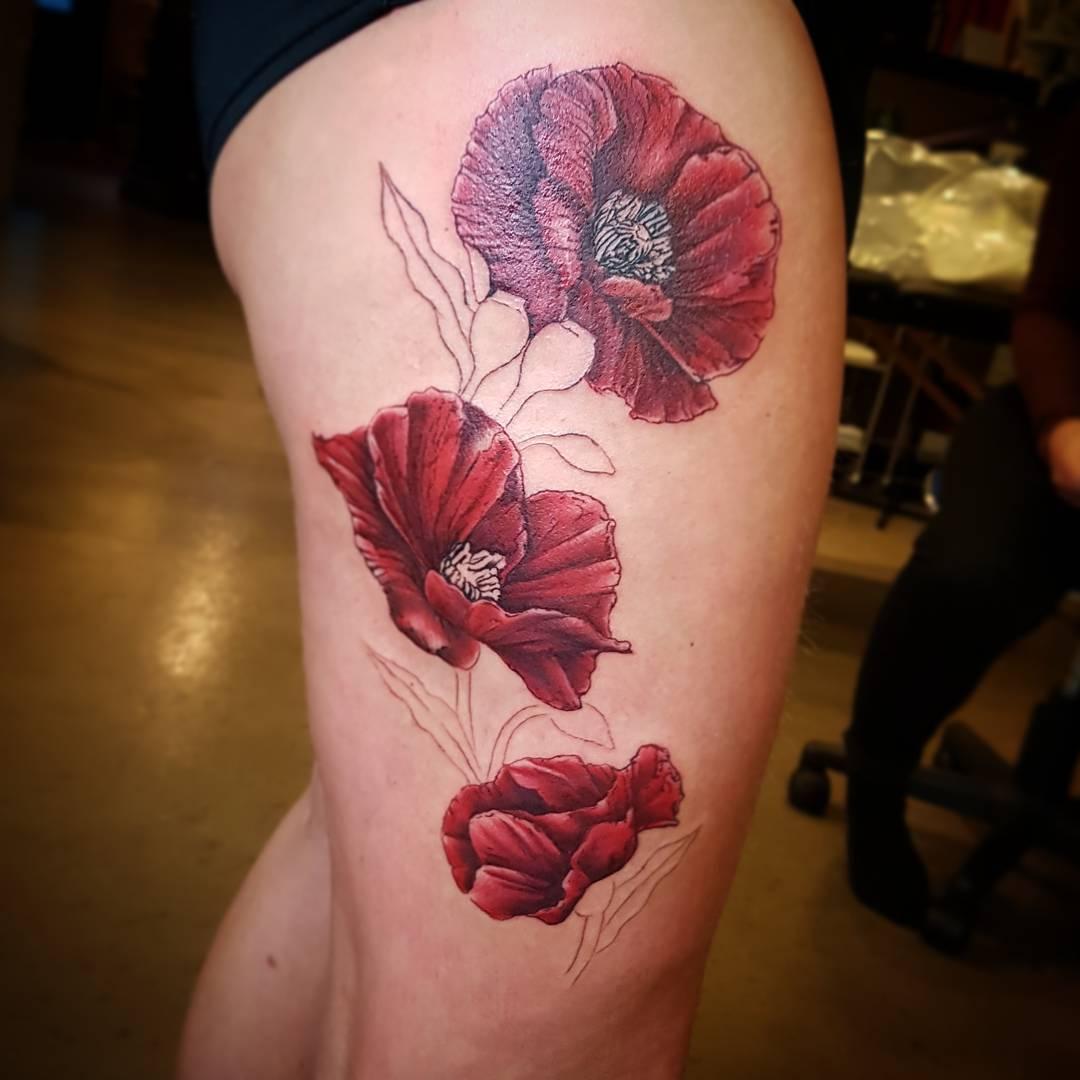 115 best thigh tattoos ideas for women designs
